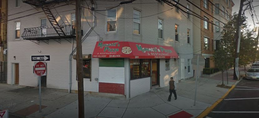 local pizza shop in weehawken