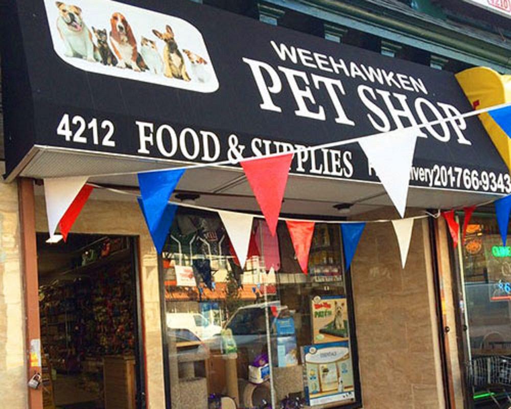 local pet supplies in weehawken