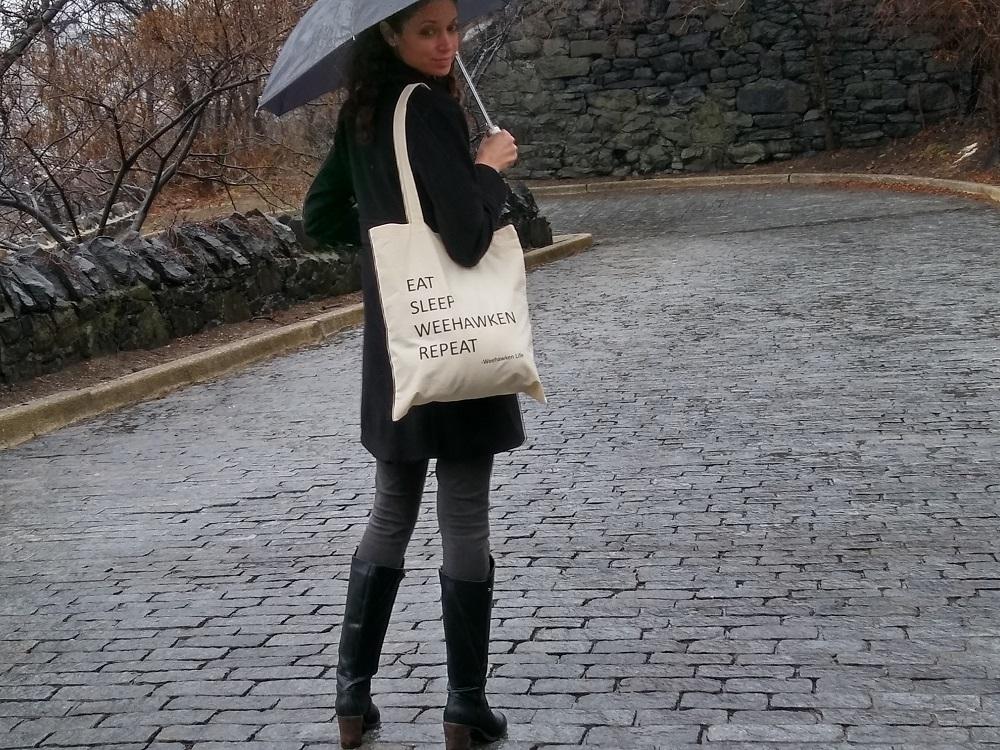 weehawken tote bag for sale in weehawken