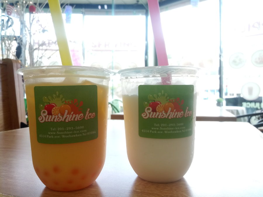 homemade smoothies and bubble teas in weehawken