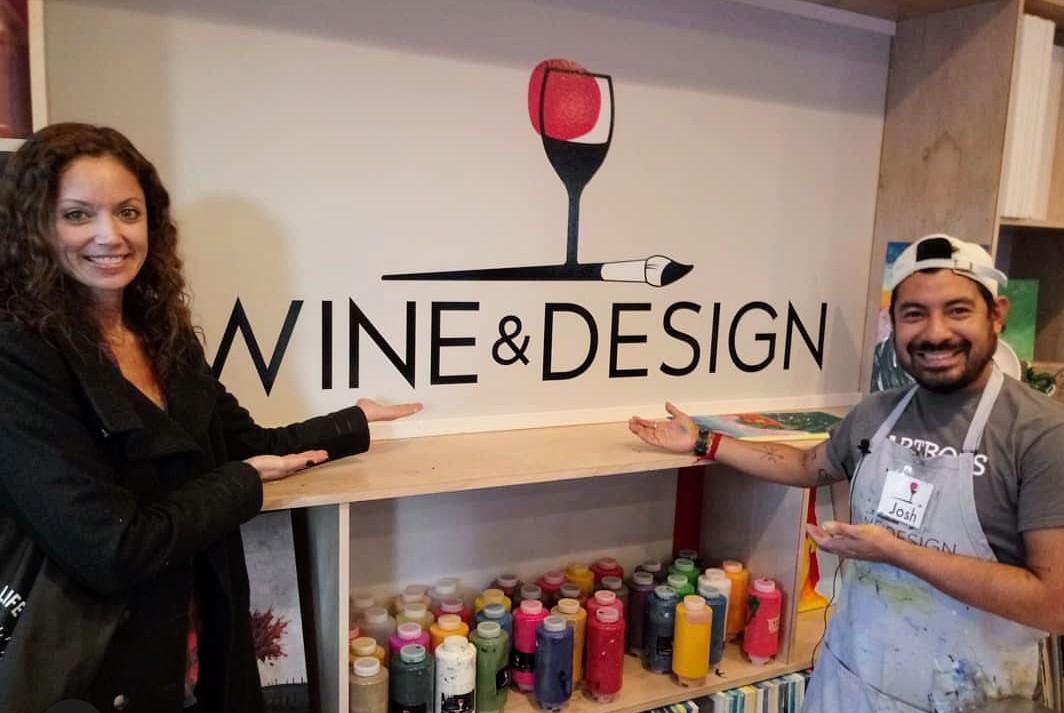 Wine & Design Art Weehawken Life