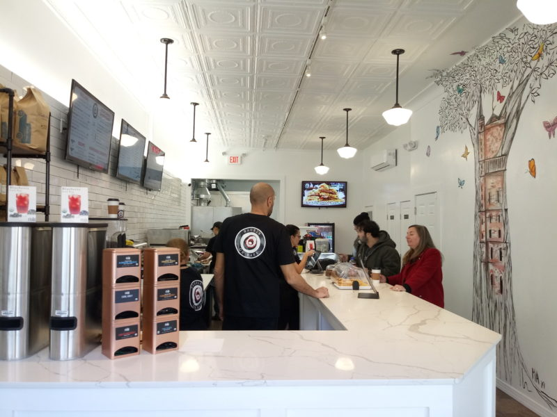 Weehawken Life Report on a the New Bagels on Park Coffee Shop