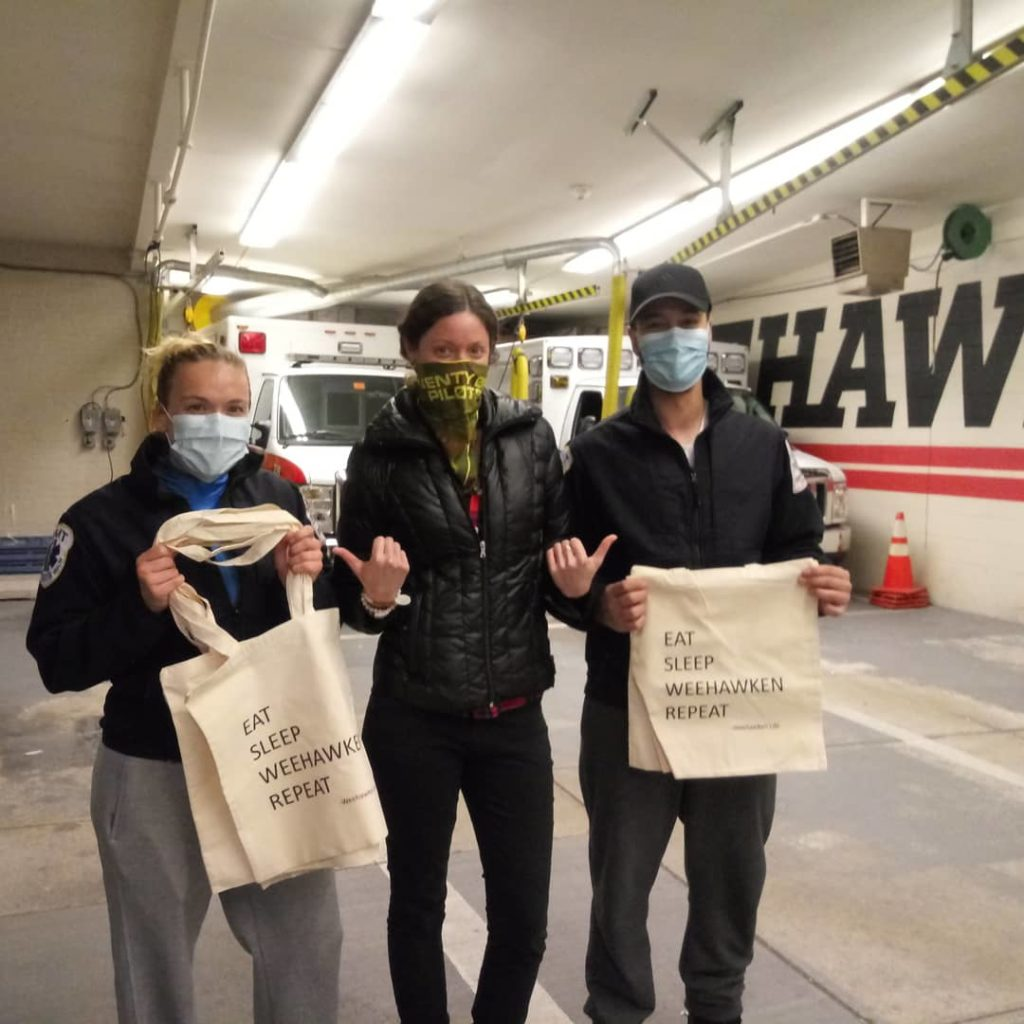 Weehawken Life Blogger With First Responders in Weehawken New Jersey Community