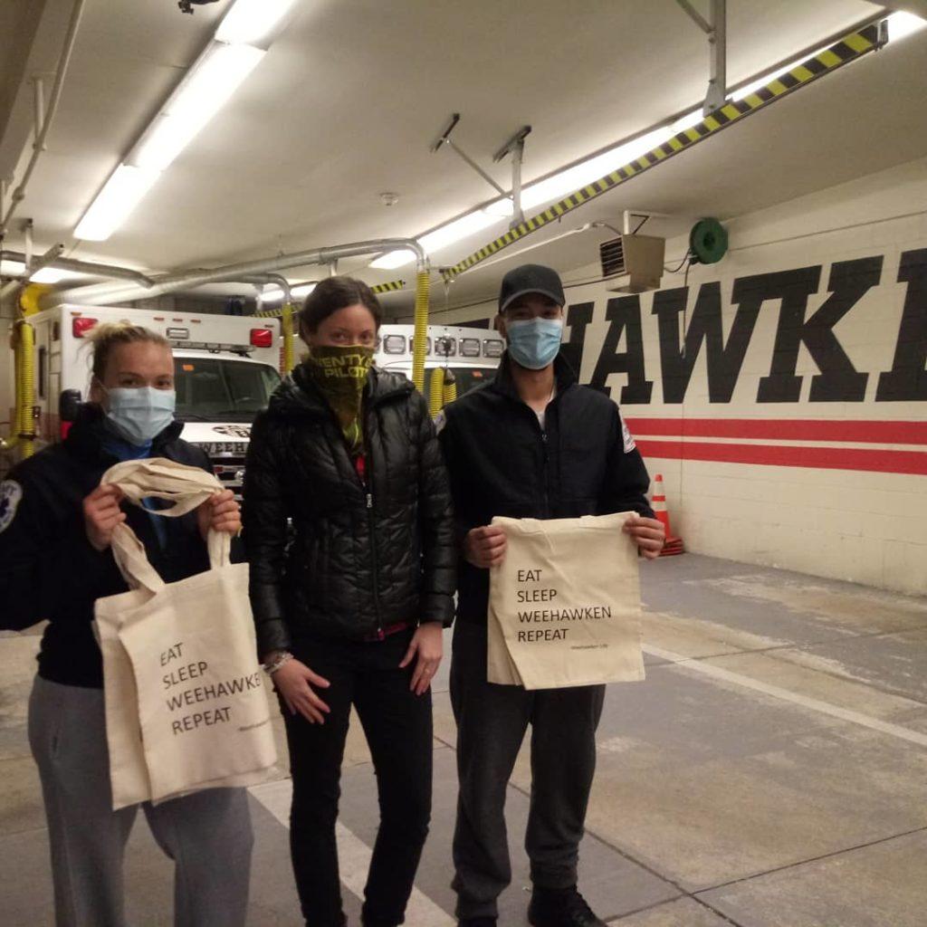 Weehawken Life Blogger With EMT in Weehawken NJ