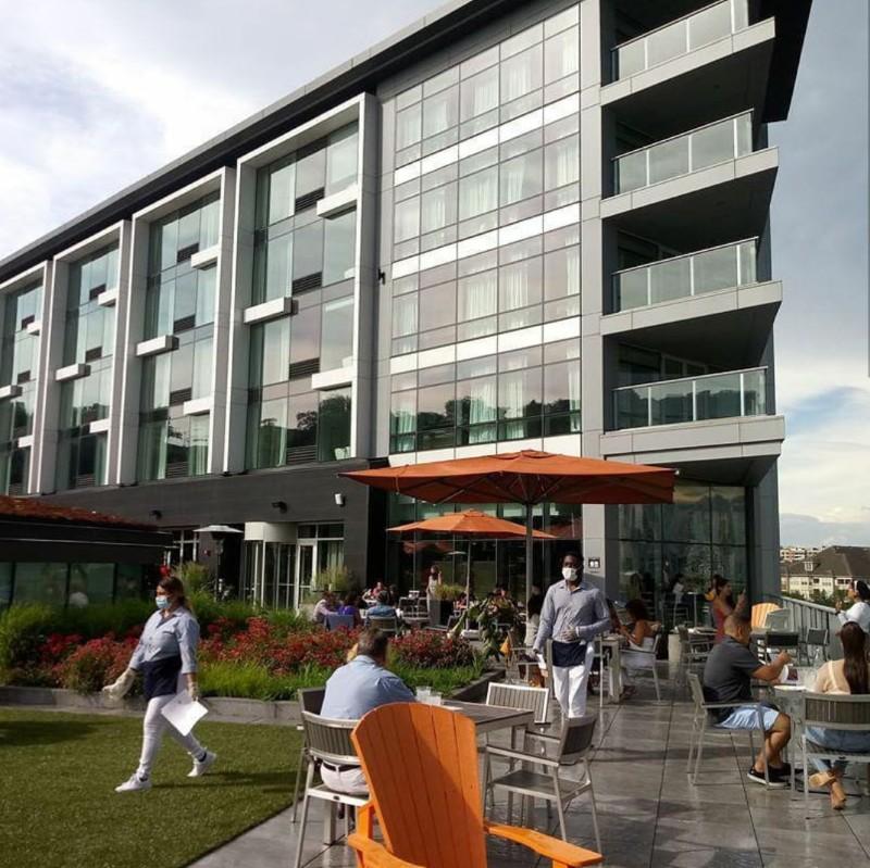 Envue Hotel in Weehawken at Port Imperial